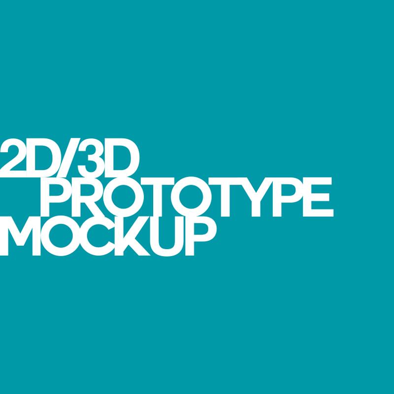 2d_3d_Prototype_Mockup